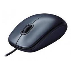 Logitech M100 Corded Mouse...