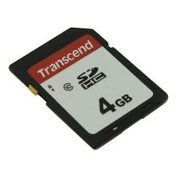TRANSCEND SDHC UHS-1 4GB 3D...