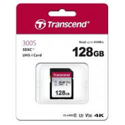 TRANSCEND SDXC UHS-3/V30...