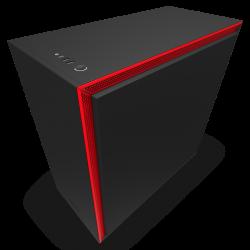 NZXT H710i - SMART - Black/Red