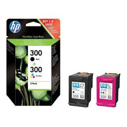 HP 300 ink combo pack...