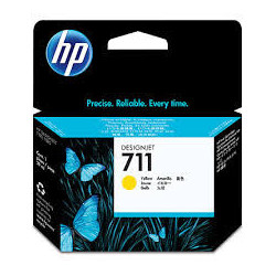 HP 711 ink yellow 29 ml DJ...