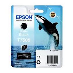 EPSON Ink T7608 Matte Black