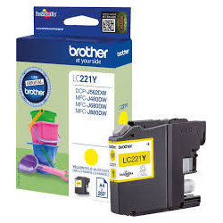 BROTHER LC221Y ink yellow...