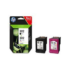 HP 302 Ink Cartridge Combo...