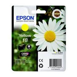EPSON 18 ink cartridge yellow