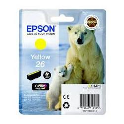 EPSON 26 ink cartridge yellow
