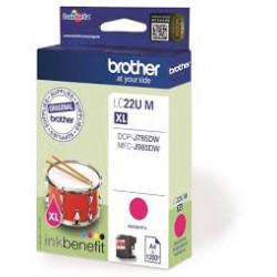 BROTHER LC22UM Ink magenta...