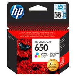 HP 650 - Väri (syaani väri....