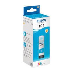 EPSON 104 EcoTank Cyan ink...