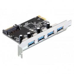 Delock PCIe. 4 x USB3.0 Typ...