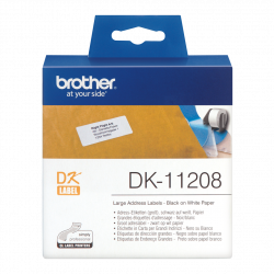 BROTHER DK11208 LARGE...