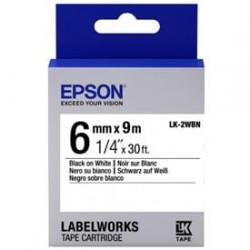 EPSON LK-2WBN Label Cartr....