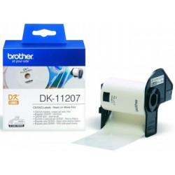 BROTHER DK11207 CD/DVD LABELS