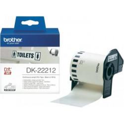 BROTHER DK22212 WHITE FILM...