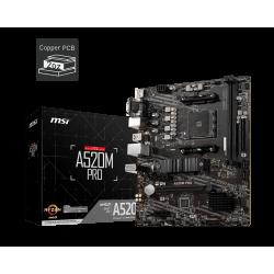 MSI A520M PRO AM4 M-ATX
