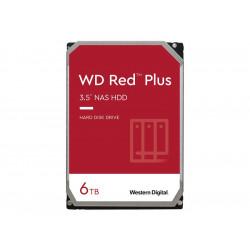 "WD Red Plus 6TB SATA3 3.5"" HDD"