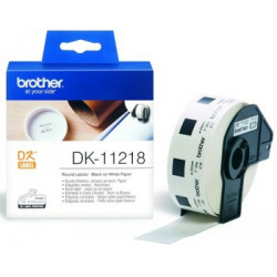 BROTHER DK11218 ROUND PAPER...
