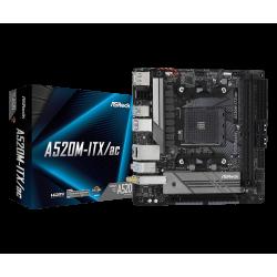 ASROCK A520M-ITX/AC AM4...