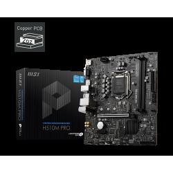 MSI H510M PRO LGA1200