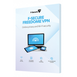F-SECURE FREEDOME (1 YEAR 3...